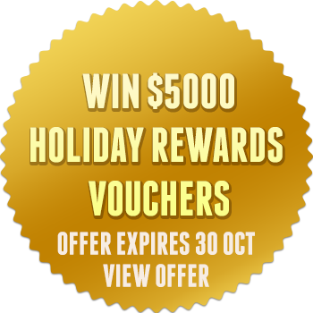 Win $5000 Holiday Rewards Vouchers